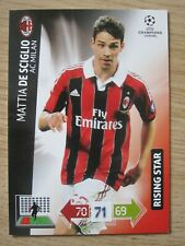 Champions League 2012/13 Rising Star card Mattia De Sciglio of AC Milan
