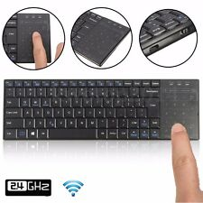 Bluetooth Wireless QWERTY Keyboard Mouse Touchpad For Mac/IOS Windows Android