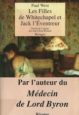 EO 1991 PAUL WEST + RARE BANDEAU : LES FILLES DE WHITECHAPEL ET JACK L´ÉVENTREUR