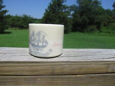 "Vintage Shulton Old Spice Shaving Mug ""Ship Friendship"""