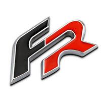 Insignia Seat FR, en Aluminio, Ibiza, Leon, Cupra, Toledo, Emblem, Emblema FR