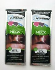 Lot of 2 AUTHENTIC KINESIO PRE-CUT NECK APPLICATION