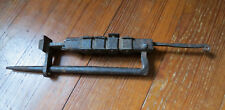 VERY OLD ANCIENT WROUGHT IRON GATE LOCK WITH KEY