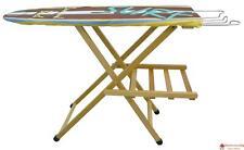 Asse Tavola Tavolo da stiro in legno massello di faggio levigato Naturale lusso
