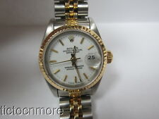 VINTAGE ROLEX 29 JEWEL 2135 OYSTER PERPETUAL DATEJUST DATE JUBILEE BAND WATCH
