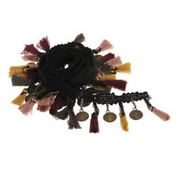 1Yard 43mm Copper Tassel Lace Trim Bohemian Cotton Fabric Ribbon Fringe Drop