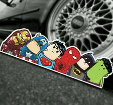SUPEREROI AVENGERS STICKER BOMB Cool Divertente Auto Decalcomania DC ripopen MARVEL
