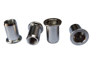 Rivnuts / Nutserts / Rivet Nuts A4 / 316 Marine Grade Stainless - Pack Of 5