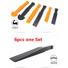 Car Interior Trim Panel /Body Bumper Retainer Fastens Clips Remove Pry Tool Set