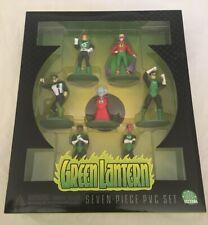 DC DIRECT GREEN LANTERN SEVEN-PIECE PVC SET - SERIES 1
