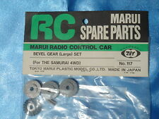 NIP MARUI BEVER GEAR (Large) SET For THE SAMURAI 4WD Part No:117 Made in JAPAN