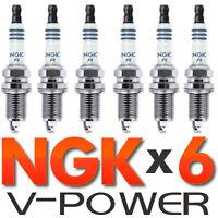 Set of 4 NGK Standard Spark Plugs for Kawasaki BAYOU 1999-1997 Engine 220cc