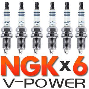 6 x NGK V-Power Spark Plug Set ZFR5N   JEEP - DODGE  Fast Ship!