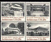 United States Scott  2019-22 Architecture MNH VF Block