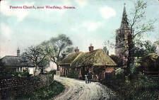 Preston Church near Worthing by A.H. Homewood.