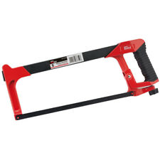 "Draper 300mm Soft Grip Hacksaw 12"" Aluminium Handle Carbon Steel Blade Saw"