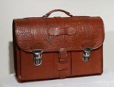 Sehr schöne gr. Koffer Ledertasche Koffertasche echt Leder Tasche  ~50er TOP !