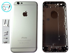Backcover Akkudeckel Rück Cover Gehäuse Rahmen für iPhone 6 Weiß Silber Taste