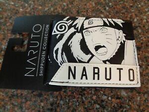 Naruto Shippuden Nine Tails Bifold Wallet Polyurethane NWT Bioworld Viz Media