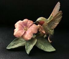 Lenox Hummingbird Figurine Fine China Porcelain Garden Bird Collect