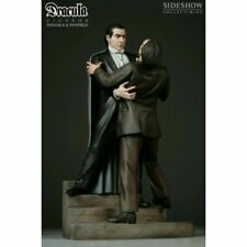 SIDESHOW DRACULA vs RENFIELD POLYSTONE DIORAMA STATUE Universal Monsters Figure