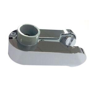 Aqualisa Pinch Grip Shower Head Handset Holder 25mm Chrome & Grey Modern 910314