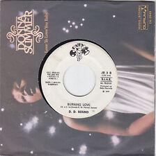 "D. D. SOUND - burning love / PAOLO BARABANI - fumo americano 7"""