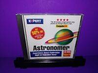 Expert Software Astronomer PC CD ROM Windows 95/3.1 B458