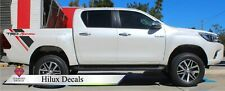 Toyota Hilux TRD Side Bed Decals Stickers Graphics CUSTOM x2