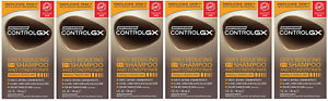 Just For Men Control GX 2 in 1 Shampoo and Conditioner, 5 Fluid Ounce (6 Pack)