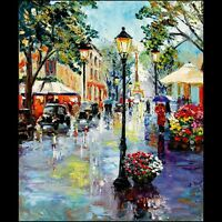 Paris City Montmartre Street Morning Limited Edition ACEO Print Art Yary Dluhos