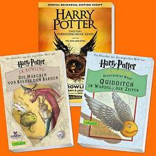 Harry Potter und das verwunschene Kind+Das Märchen von Beedle dem Barden+Quiddit