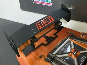 Arrma Felony Rear Wing Spoiler Adjustable BLACK Edition