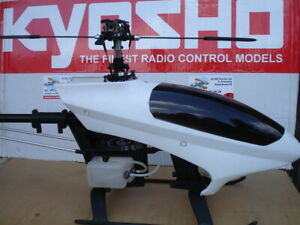 KYOSHO CALIBER 5 Helicopter for nitro engine + optional OS Hyper + blade FunTech