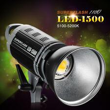 Pergear LED-1500 100W Studio LED Photo Video light Bowens Mount +Reflector