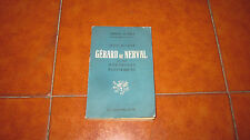 JEAN RICHER GERARD DE NERVAL ET LES DOCTRINES ESOTERIQUES I ED GRIFFON D'OR 1947