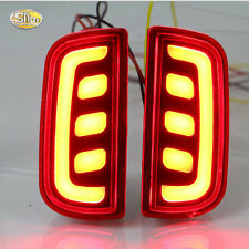 LED Rear Bumper Light for Honda civic 10th 2016 2017 Driving Braking Light