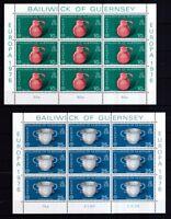 Guernsey1976 postfrisch Kleinbogen Satz MiNr.133-134 Europa
