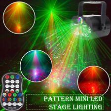 240 Muster Laser Projektor RGB LED USB Party DJ Disco Bühnenbeleuchtung w/remote