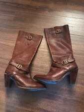 Women's Size 10 FRYE Brown Leather Boots