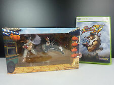Jeu Xbox 360 Street Fighter IV 4 + Figurines collector Ryu et C.Viper & art book