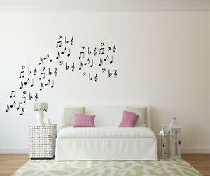 Wall Sticker Musical Notes Sticker Wall Window Sticker Home Decor DIY