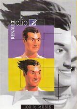 Prospetto/brochure RENAULT CLIO MTV 03/2000