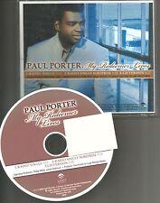 PAUL PORTER MY redeemer Lives 3 TRX RADIO VERSIONS  PROMO DJ CD single 2009 USA