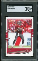 2020 Donruss #230 Tom Brady 1st Bucs Card Graded SGC 10 GEM MINT~ PSA 10? ~GOAT