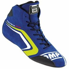 OMP TECNICA EVO RACE BOOTS OMPIC/803 FI Black/Red or Blue All Sizes ASK