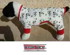 Dog Holiday Christmas XXS Long John Pajamas Warm Pet Pjs Snowman