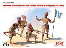 ICM 35567 Eritrean battalions of the Italian Сolonial Army  1/35