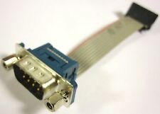 FOXCONN RS-232 COM DB9 Serial Port Motherboard Header Cable 2.54mm Pitch