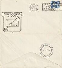 US 1961 AM 81 FIRST FLIGHT INDEPENDENCE KANSAS TO KANSAS CITY FLOWN COVER